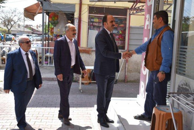 """Başkan Altay: """"Cuma buluşmaları hizmet standartlarımızı yükseltiyor"""""""