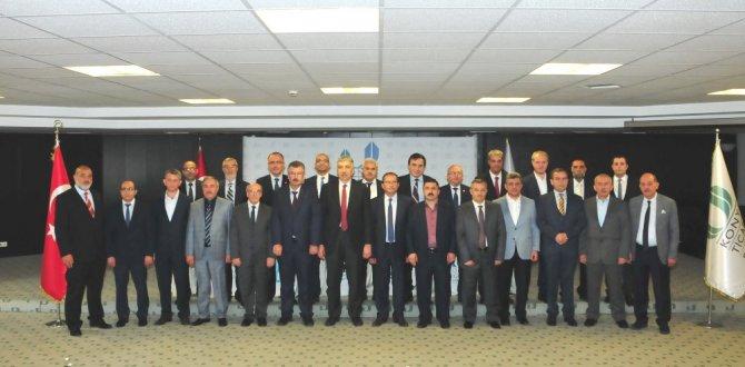 Konya Ticaret Borsasında yeni yönetim belirlendi
