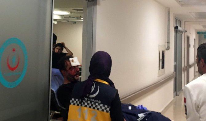 Satırlı saldırıya uğrayan kişi yaralandı