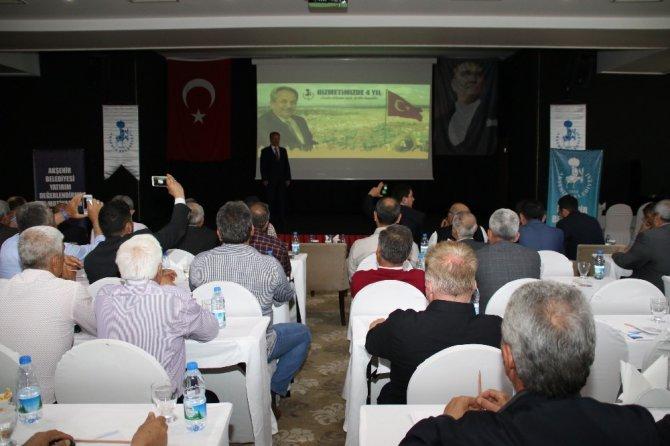 Akşehir Belediyesinden yatırım değerlendirme toplantısı