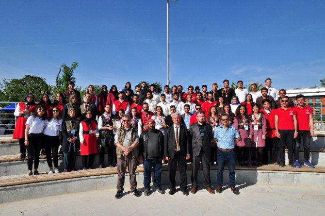 Geleneksel Türk okçuluğu şampiyonası NEÜ'de yapıldı