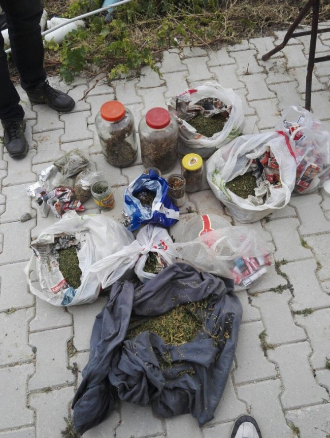 Konya'da uyuşturucu madde operasyonu