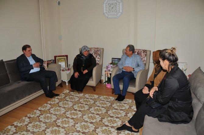 Akşehir'de şehit anneleri unutulmadı