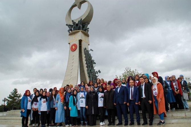 Meram Belediyesi öğrencileri Cumhurbaşkanı Erdoğan ile görüştürdü