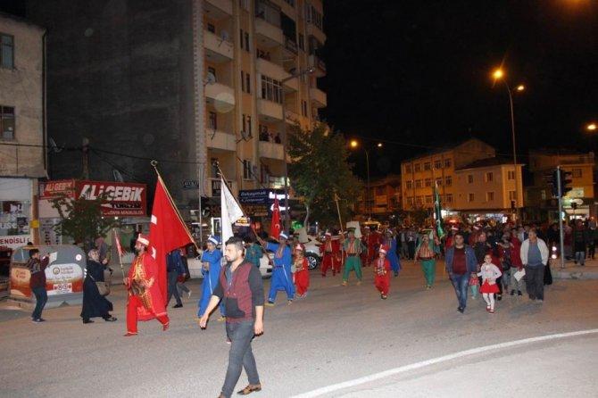 Seydişehir'de Kültür-Sanat Etkinlikleri kortej yürüyüşü ile başladı