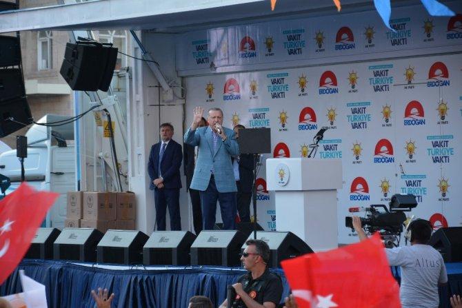 Cumhurbaşkanı Erdoğan Aksaray'da