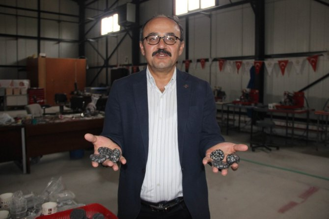 SPA taşları yurt dışına Konya'dan gönderiyor