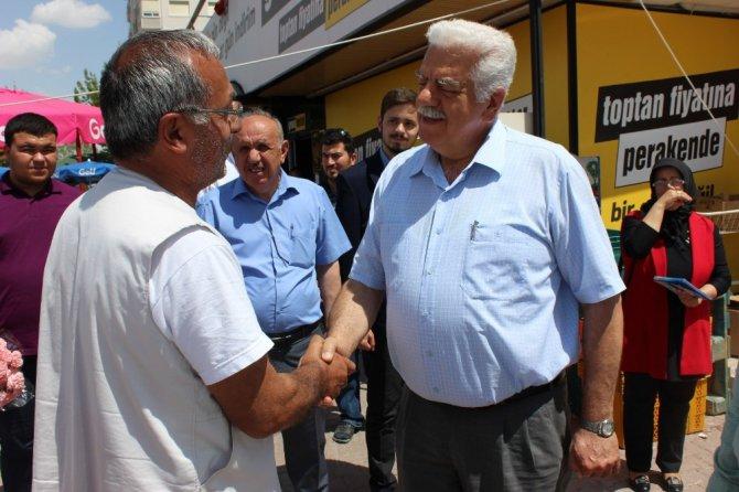 Milletvekili Adayı Ali Sürücü seçim çalışlarını sürdürüyor