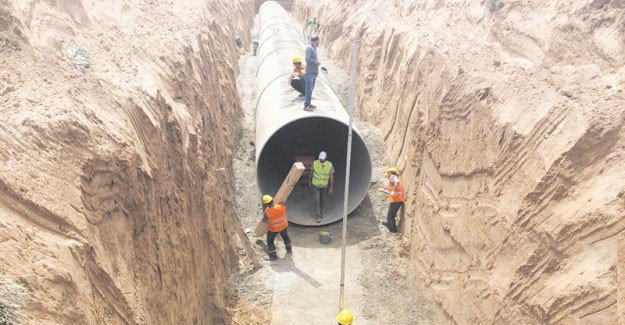 Aksaray'da kapalı sulama sistemine geçiliyor