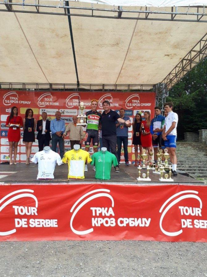 Torku Şekerspor Sırbistan'da 2. oldu