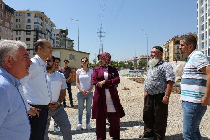 Başkan Toru, cami inşaatını inceledi