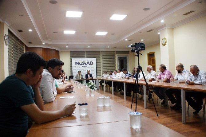 MÜSİAD Konya'da yeniden yapılandırma anlatıldı