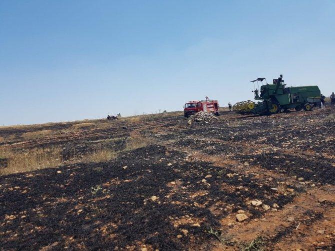 Kulu itfaiyesi bir günde 950 dekar anız yangınına müdahale etti