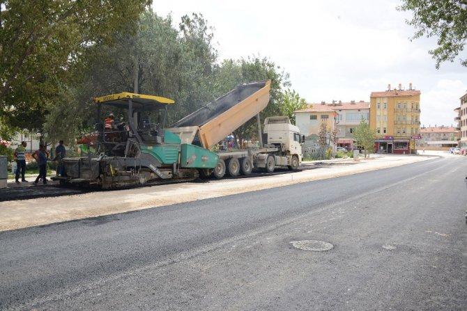 Konya Büyükşehir, Ilgın'da prestij cadde yatırımlarını sürdürüyor