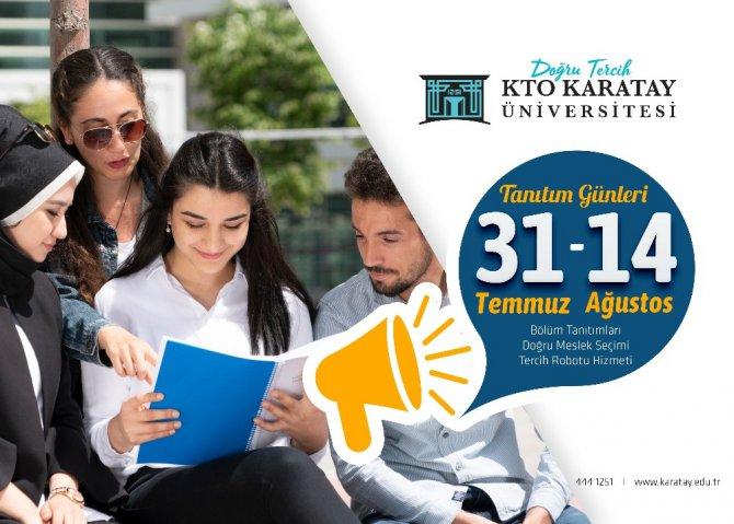 KTO Karatay Üniversitesi tercih günleri başladı