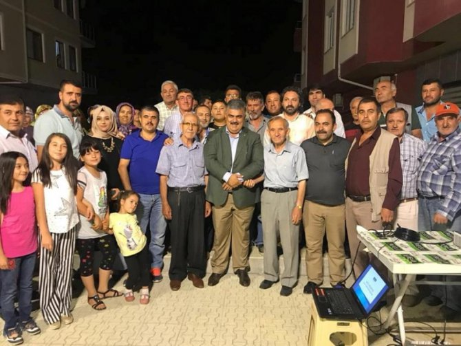 Başkan Özgüven, Hıdırlı Mahallesi sakinleriyle bir araya geldi