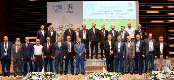 UCLG-MEWA Çevre Komitesi Toplantısı Konya'da başladı