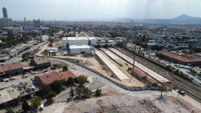 Konya yeni YHT Garı 100 günlük eylem planında