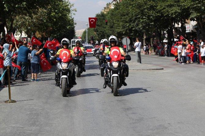 Konya'da 30 Ağustos Zafer Bayramı'nın 96. yılı kutlandı