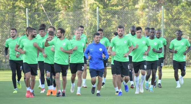 Atiker Konyaspor Fenerbahçe maçı hazırlıklarına devam etti