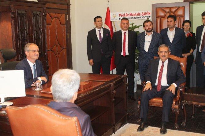 Konya Teknik Üniversitesinde devir teslim töreni yapıldı