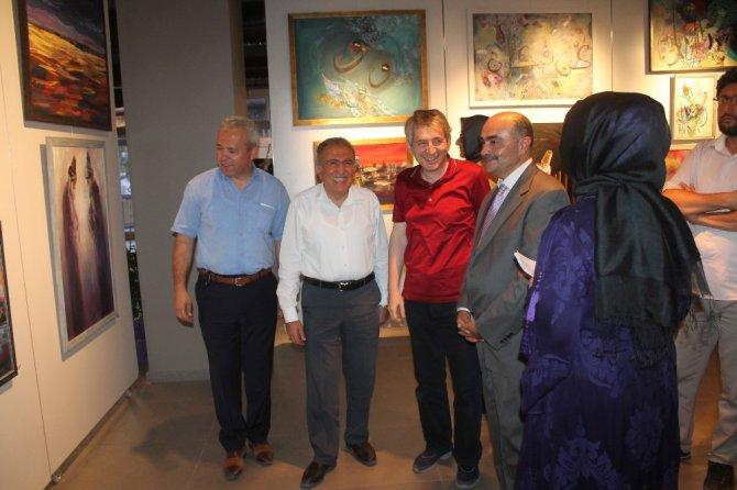 MEDAŞ Sanat Galerisinde 'Renkler Konuşsun' resim sergisi açıldı