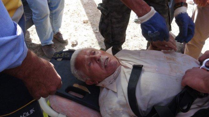 Kuyuda mahsur kalan yaşlı adamı AFAD kurtardı