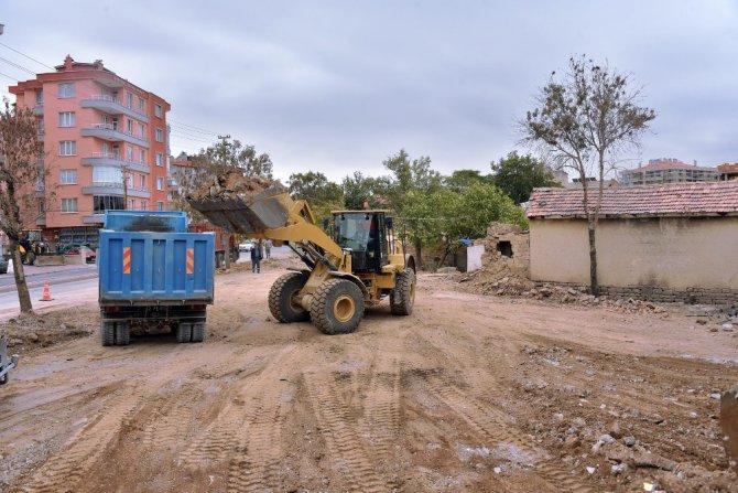 Konya Büyükşehir Belediyesi kamulaştırma çalışmalarını sürdürüyor