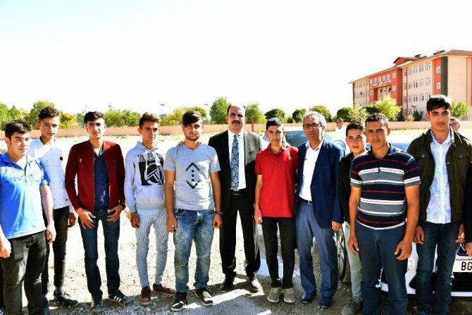 Büyükşehir'den Sarayönü'ne iki yatırım