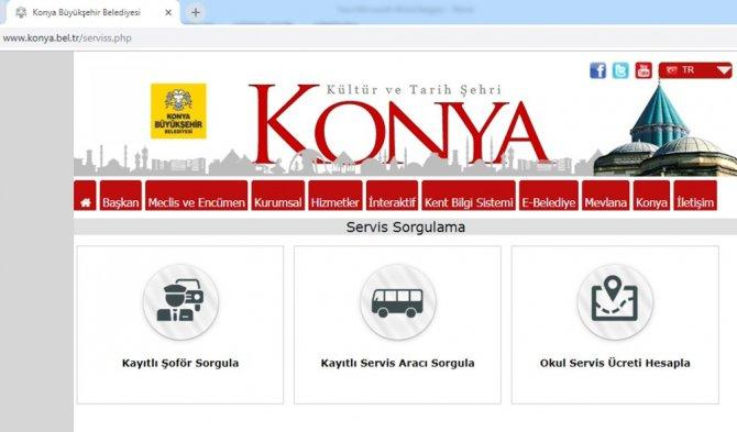 Büyükşehir'den okul servislerini internetten sorgulama hizmeti