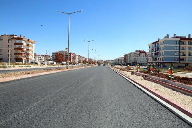 Ahmet Yesevi Caddesinde sona gelindi