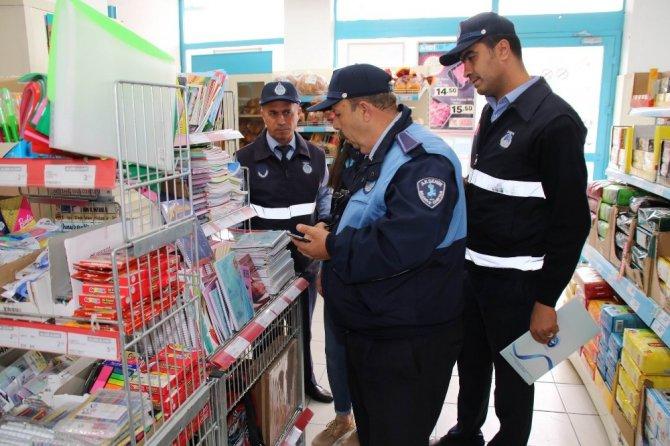 Akşehir'da zabıta fiyat ve etiket denetimi başlattı