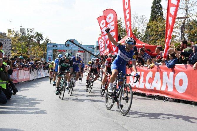 Cumhurbaşkanlığı Bisiklet Turu'nun Konya Etabı tamamlandı