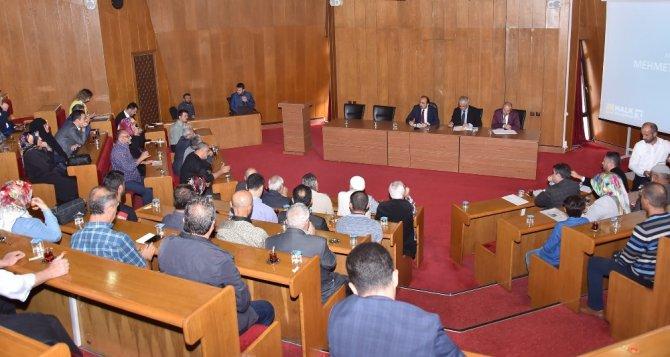 Başkan Altay, şehir istişarelerinde vatandaşlarla buluştu