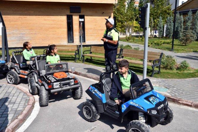 Selçuklu'da Trafik Eğitim Parkı açıldı