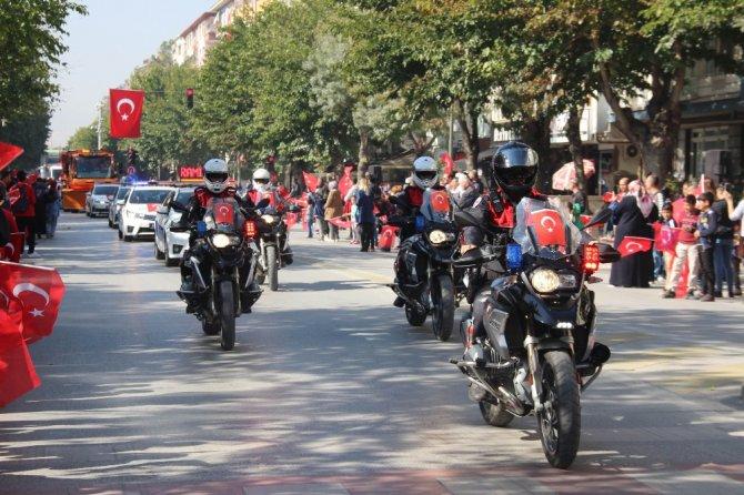 Konya'da 29 Ekim kutlamaları