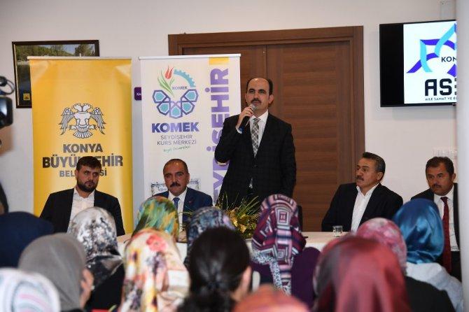Büyükşehirden Seydişehir'e 5 yılda 153 milyonluk yatırım
