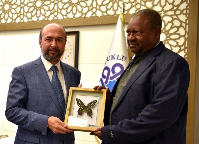 Djibo Belediye Başkanından Pekyatırmacı'ya ziyaret