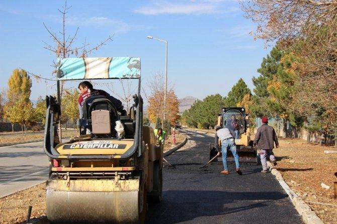 Seydişehir Belediyesinden bisiklet yolu