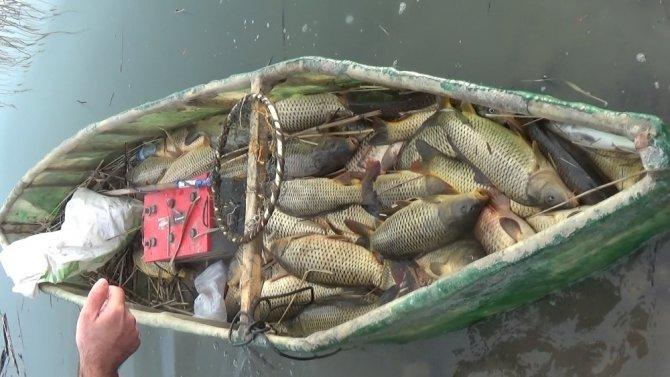 Beyşehir Gölü'nde 61 avcıya usulsüz avlanmaktan 155 bin lira ceza