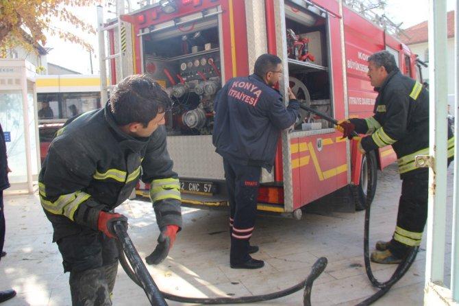 Müze tadilatı sırasında yangın