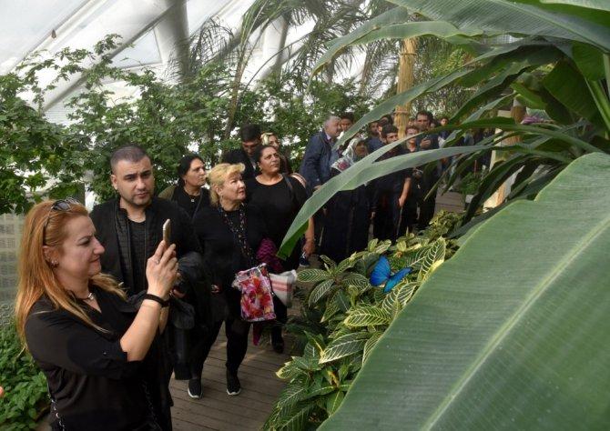 Tropikal Kelebek Bahçesi 1 milyon 500 bin ziyaretçiye yaklaştı