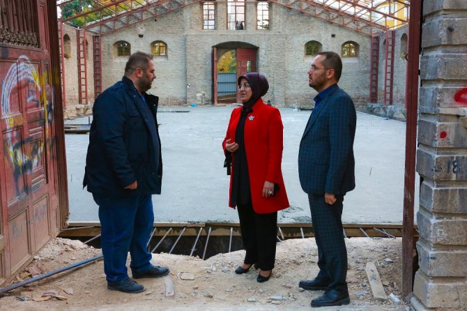 """Başkan Fatma Toru: """"Tantavi Ambarı, kültürel hayata katkı sağlayacak"""""""