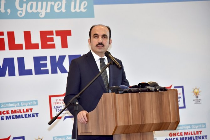 """Başkan Altay: """"Bizim vizyonumuz gönüllere girmektir"""""""