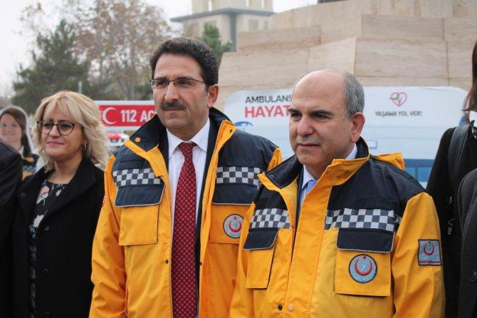 Konya'da 112'ye gelen günlük 5 bin 400 çağrıdan 470'i gerçek