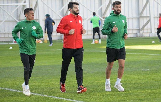 Atiker Konyaspor günü tek antrenmanla geçirdi