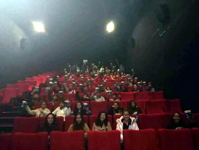 Ereğli Belediyesinden çocuklara sinema etkinliği