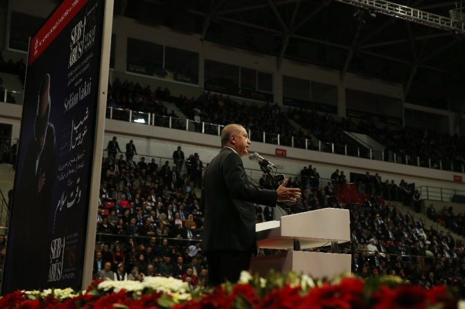 Cumhurbaşkanı Erdoğan, Şeb-i Arus programına katıldı