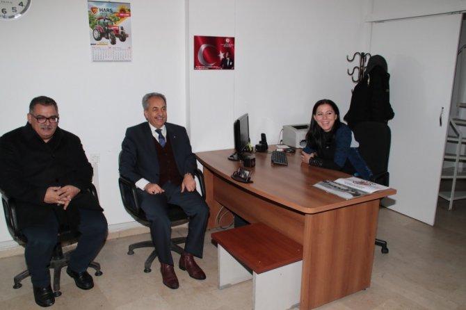 Başkan Akkaya'dan yerel gazetelere ziyaret