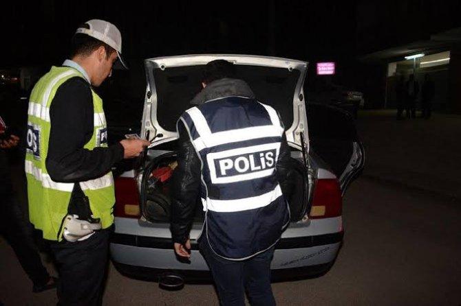 Aksaray'da 20 ayrı hırsızlık olayında 13 tutuklama